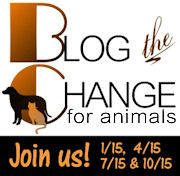 Blog the Change for Animals - 4/15/11