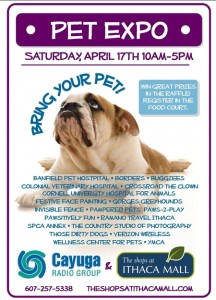 Pet Expo at the Shops at Ithaca Mall