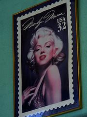Marilyn Monroe stamp poster by Candie_N on Flickr.com