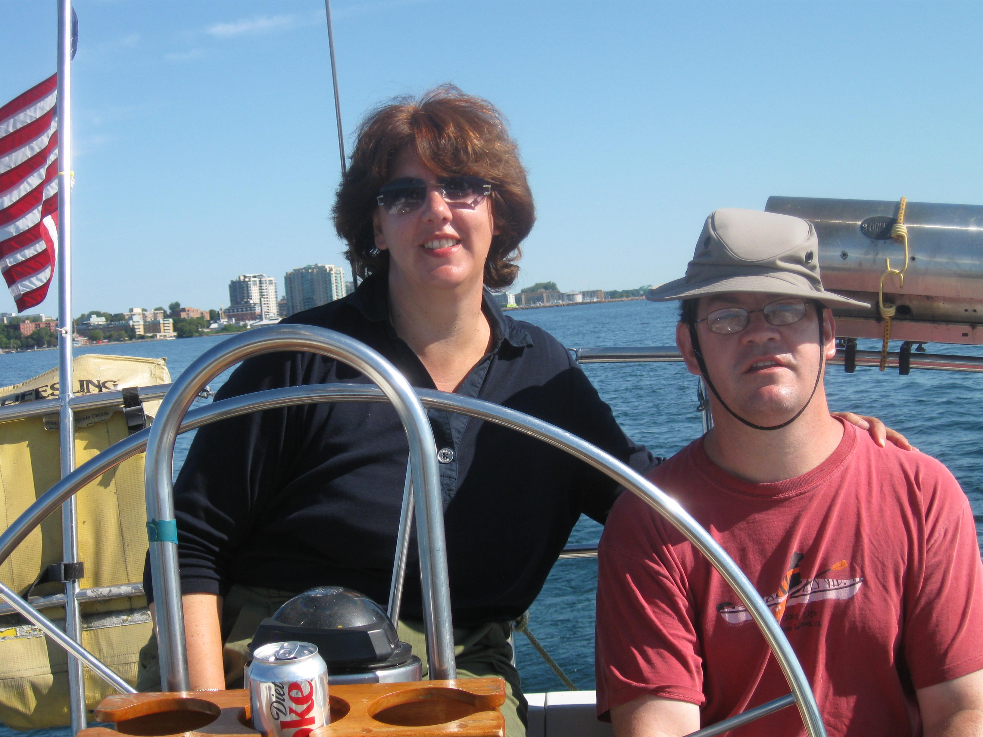 Sailing aboard Iris out of Henderson Harbor
