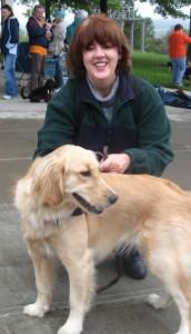 Golden Retriever with Pamela Douglas Webster