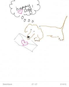 Valentine's Dachshund from Flickr