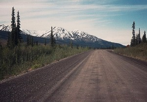 Dempster Highway in the NW Canadian Territories
