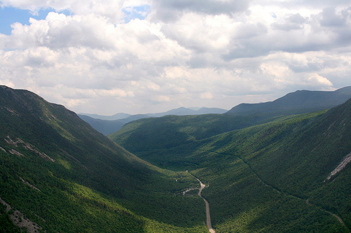 Crawford Notch in the White Mountains