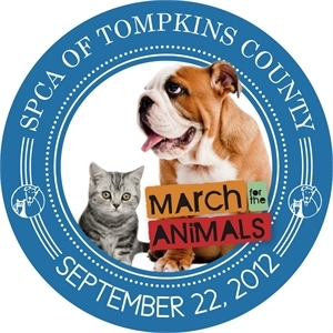 SPCA of Tompkins County March for the Animals