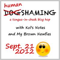 human shaming blog hop