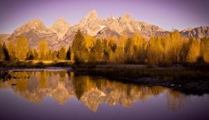 Mountains in Wyoming Pukka sees.