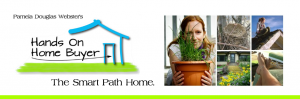 The header for Hands on Home buyer blog.