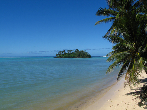 A Cook Island Lagoon