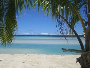 A Cook Island view.