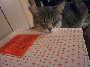 A kitty fan of French cooking.