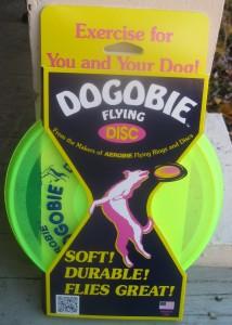 The Dogobie flying disc.