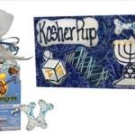 Tail bangers Hanukkah dog treats.