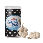 Make a sandy paws cast of your dog's paw.
