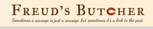 Freud's Butcher blog header screen shot.