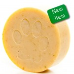 Wild woof soap bar for dogs.