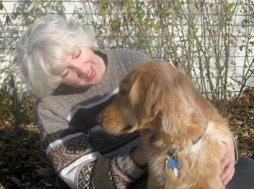 Honey loves her weird dog lover mom.