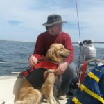Honey's Train the Dog Month Challenge was to learn sailing skills.