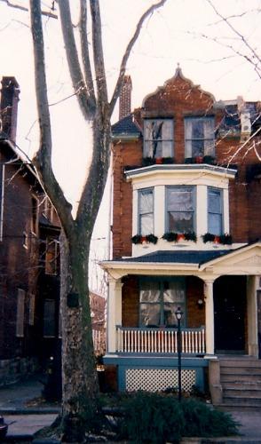 Philadelphia town house.