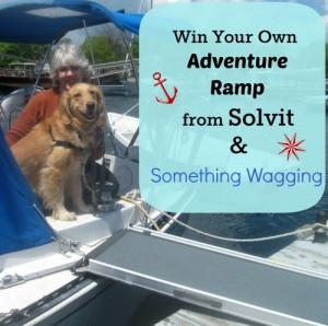 Win a Solvit XL Telescoping Pet Ramp.