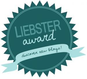 The liebster award button.