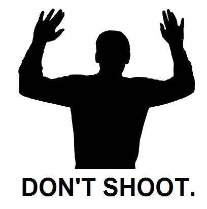 Don't Shoot poster.