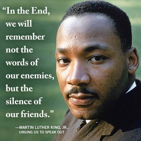 Dr. Martin Luther King quote.