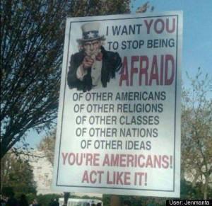 Uncle Sam poster.