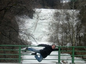 Mike at Ithaca falls.