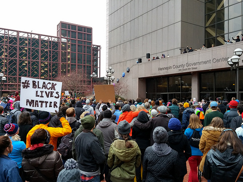 Black Lives Matter demonstration.