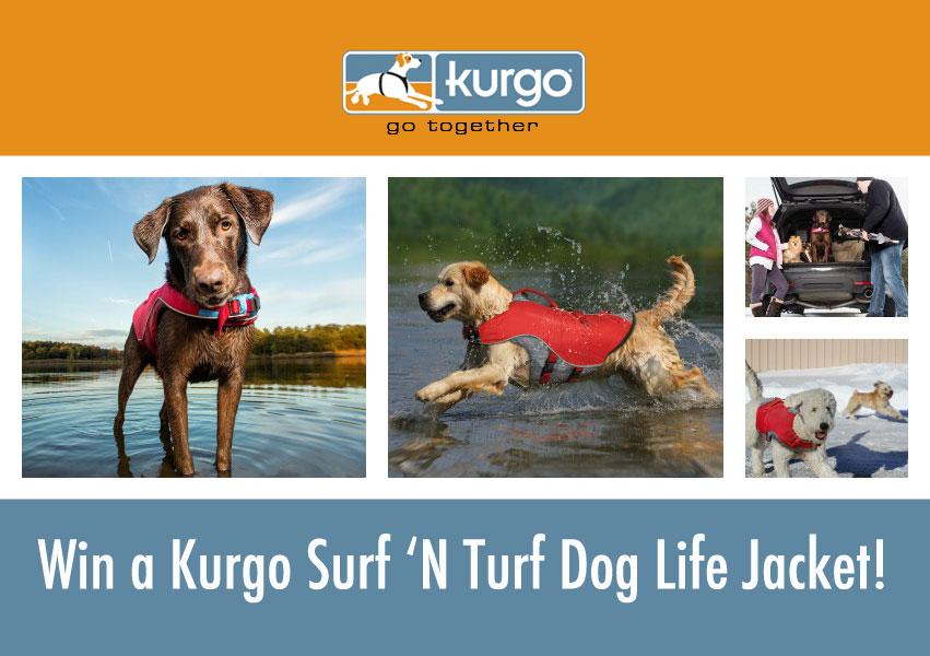 Kurt Surf 'N Turf life jacket collage.