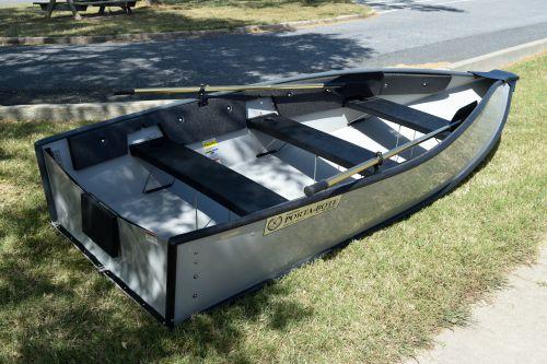 Mini Mea our folding dinghy.