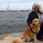 The Windblown Golden Retriever – Wordless Wednesday