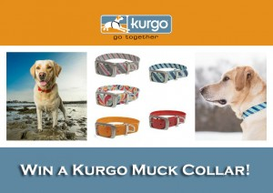 Kurgo Muck Collar comes in 5 styles and 3 sizes.