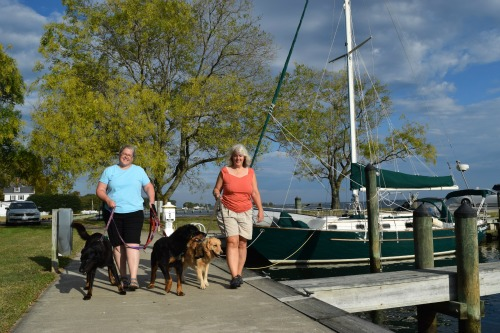 4Meander, Leah, Pam & Dogs