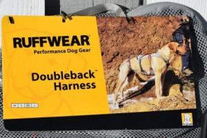 Ruffwear doubleback harness.