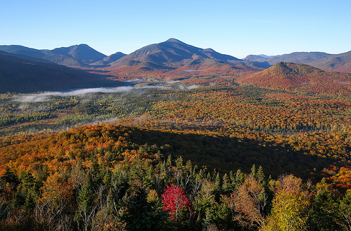 The Adirondacks of New York.