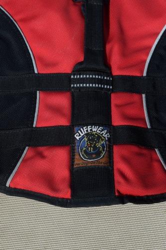 Ruffwear life jacket.