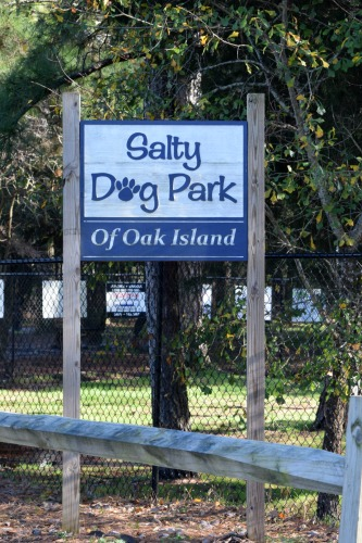 Salty Dog Park in Southport, NC