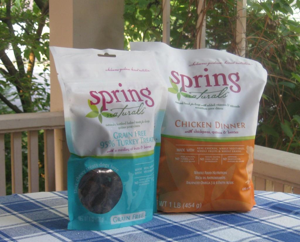 Spring Naturals food and treats