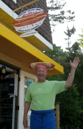 Hot Dog Tommy in Cape May.