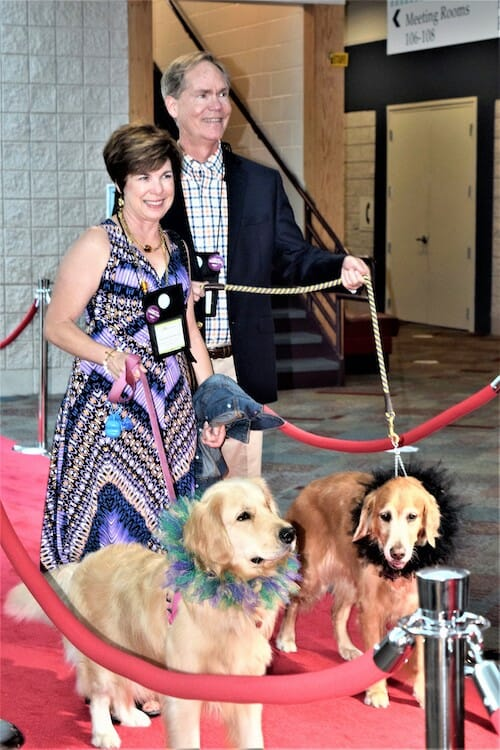 BlogPaws red carpet.