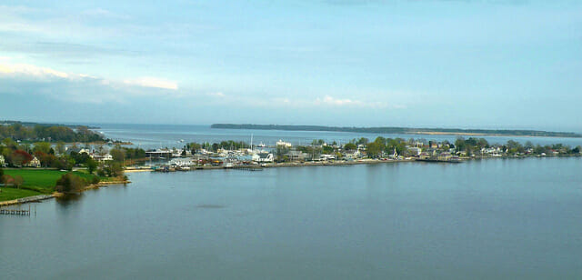 Solomon's Maryland from the bridge.